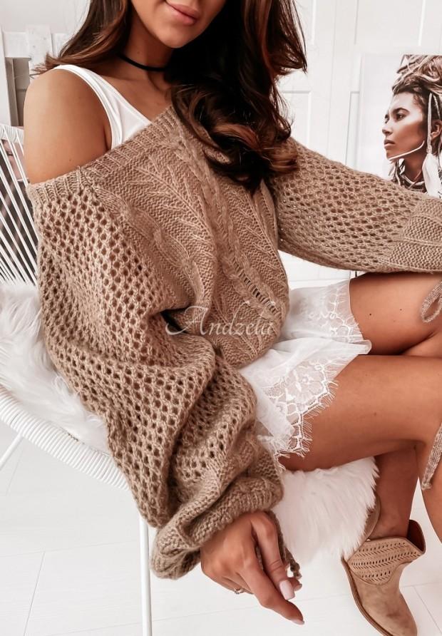Sweter Castro Mokka