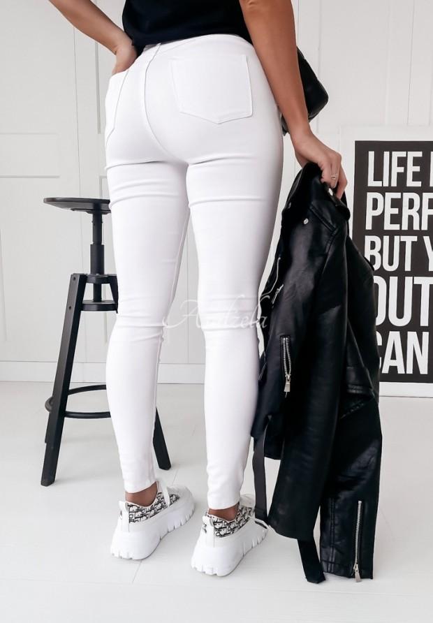 Spodnie Jeans Nicolo White