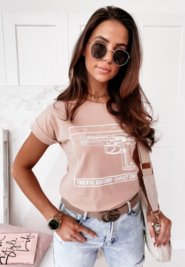 T-shirt Pistoll Powder