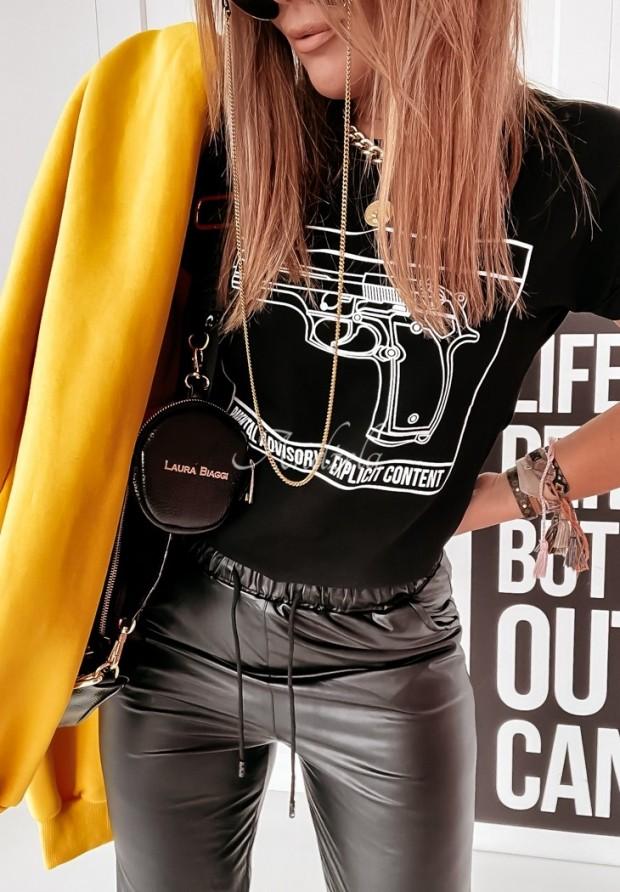 T-shirt Pistoll Black