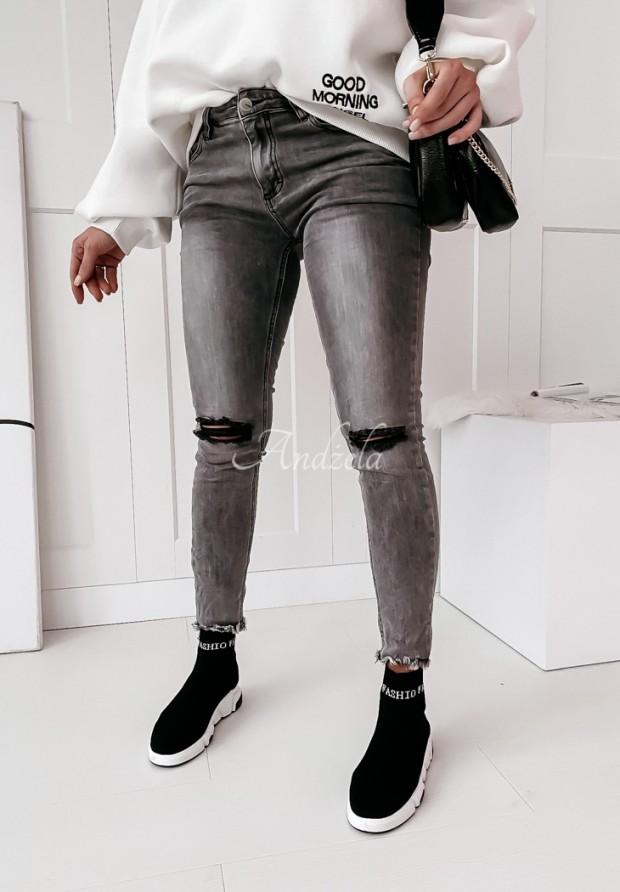 Spodnie Camaria Jeans Grey