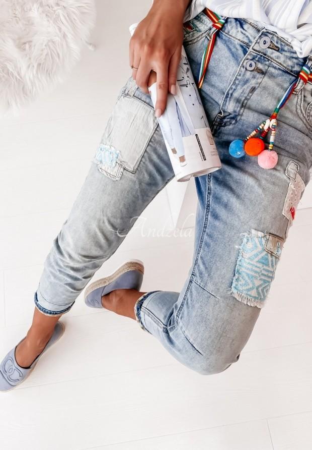 Spodnie Jeans Rainbow