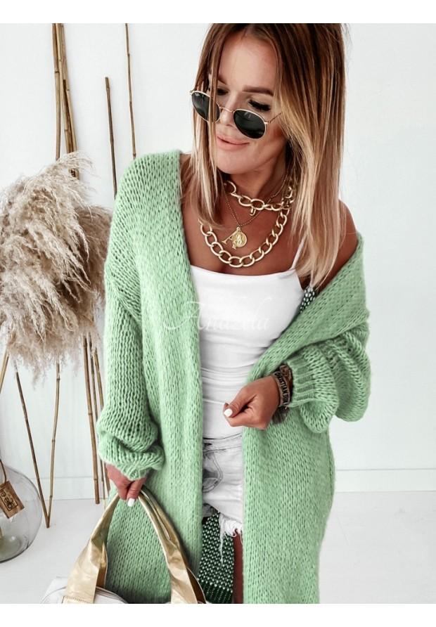 Sweter Kardigan Bueno Light Olive