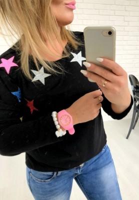 Bluzka Stars Black