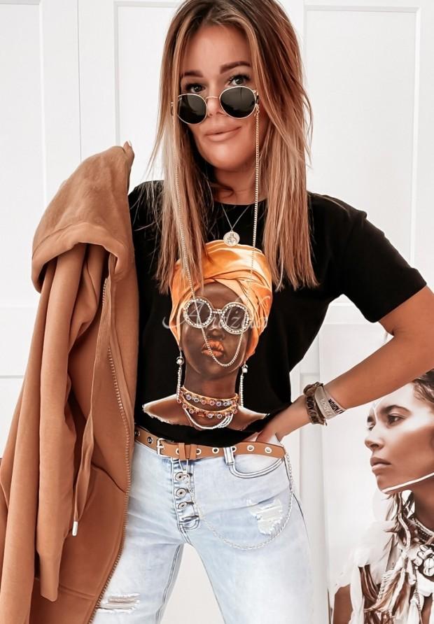 T-shirt Matabele Black