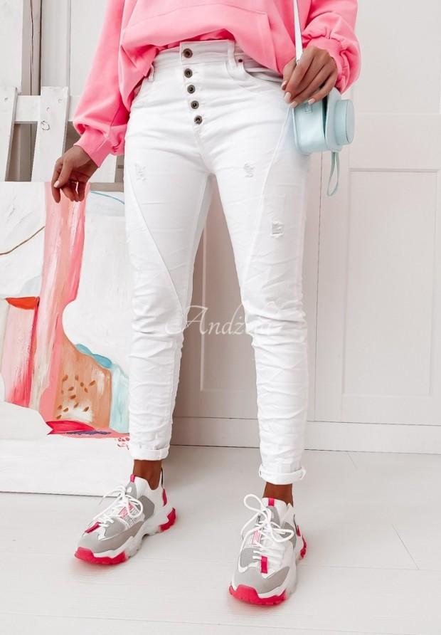 Spodnie Marmari Jeans White