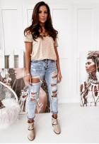 Spodnie Jeans Miss