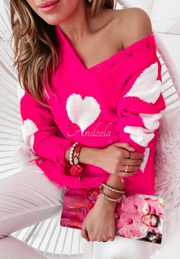 Swerer Hearts Pink