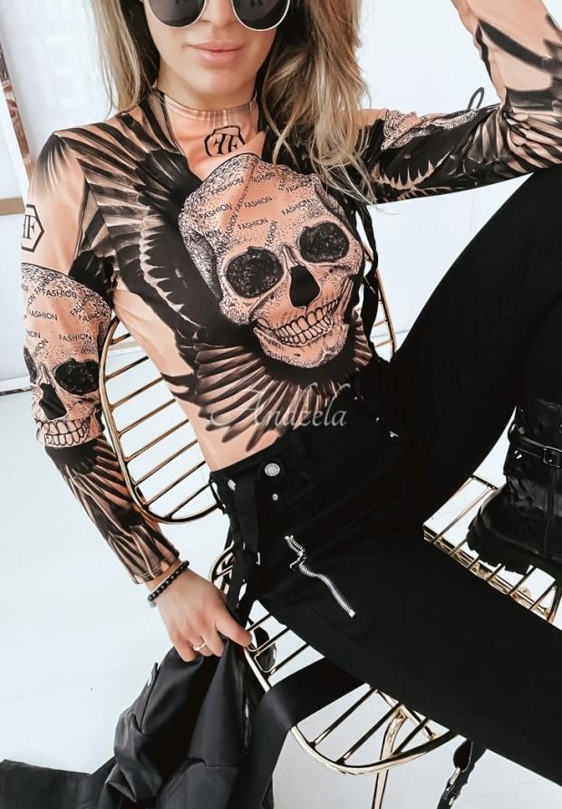 Body Skull Beige