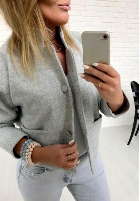 Płaszcz Chanelka Grey
