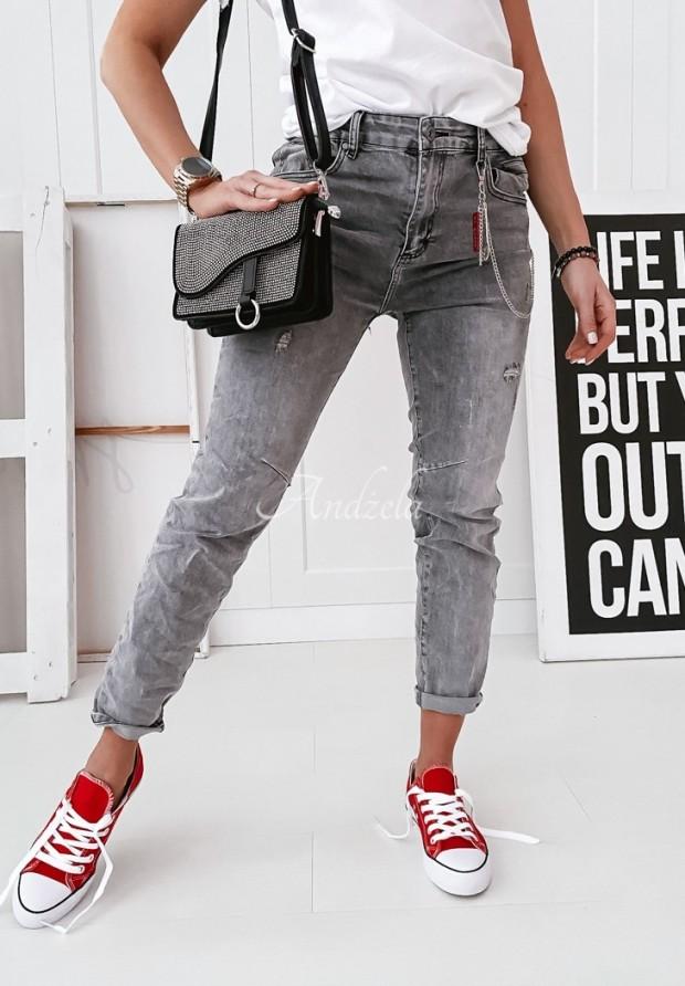 Spodnie Abaco Jeans Grey