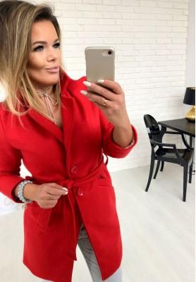 Płaszcz Spring Czerwony