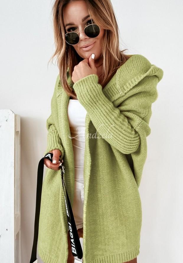Sweter Kardigan Montevista Olive