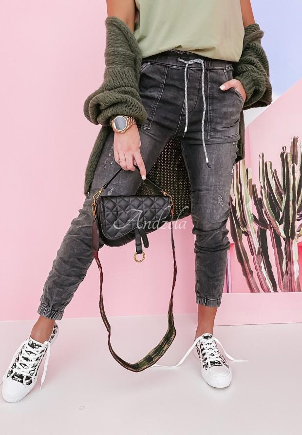 Spodnie Ezaw Jeans Grey