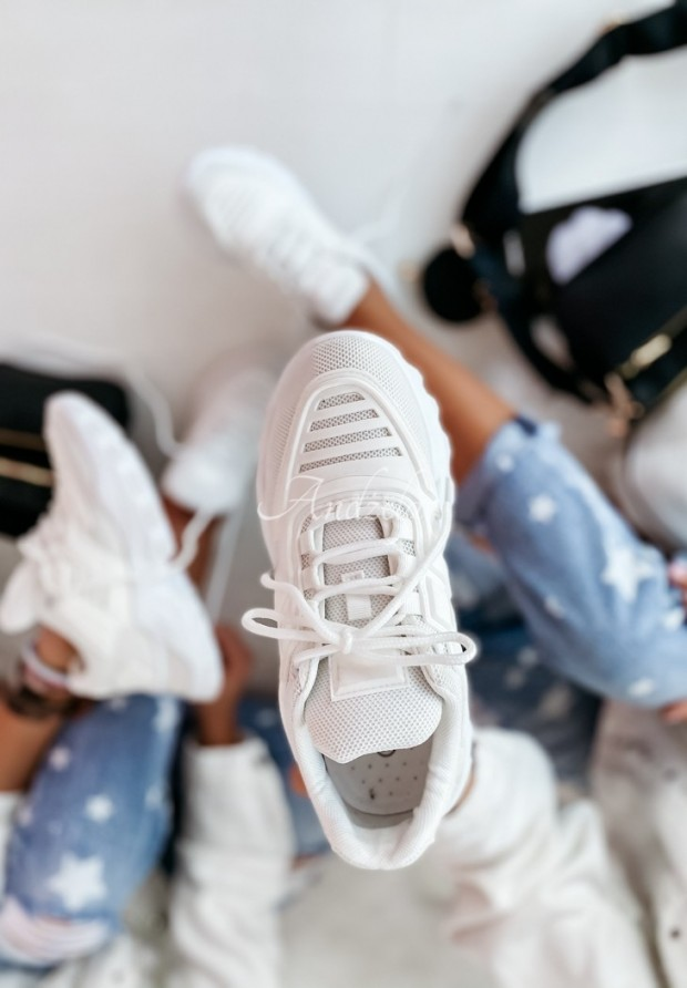 Adidasy Pure White