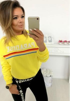 6371 Bluza Paradise Yellow