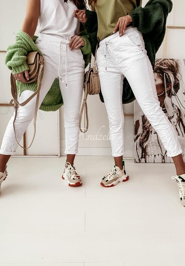Spodnie Mario Jeans White