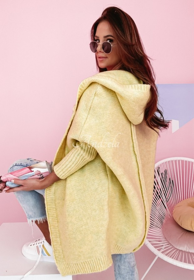 Sweter Kardigan Montevista Lime