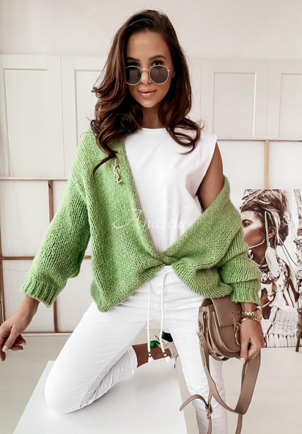 Sweter Kardigan Selma Olive