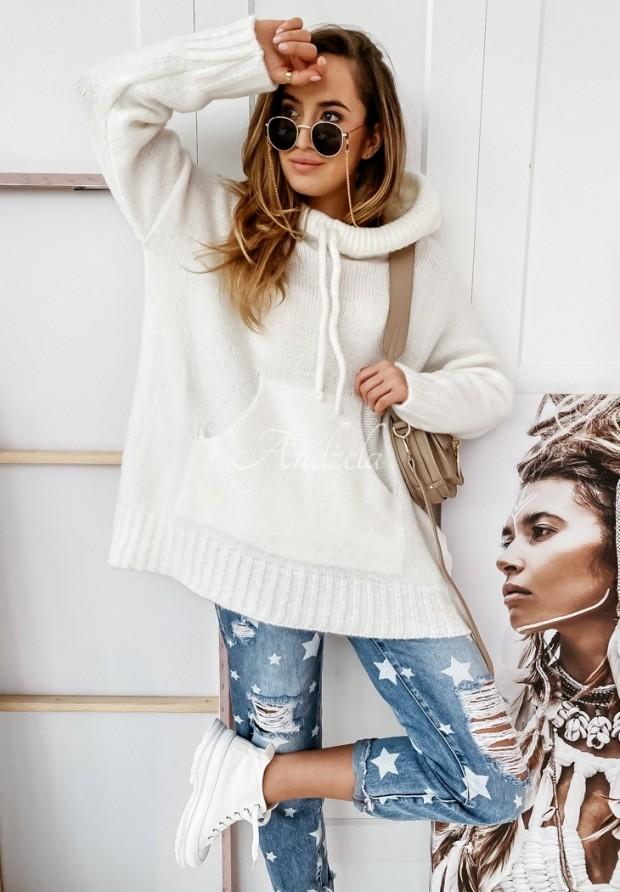 Sweter Carra Ecru
