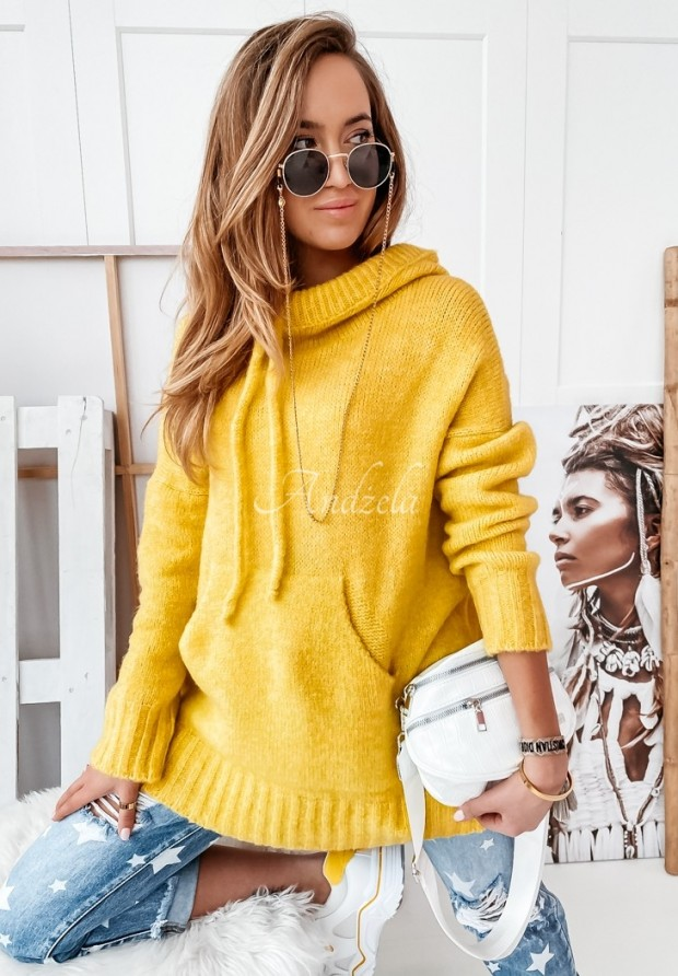 Sweter Carra Yellow