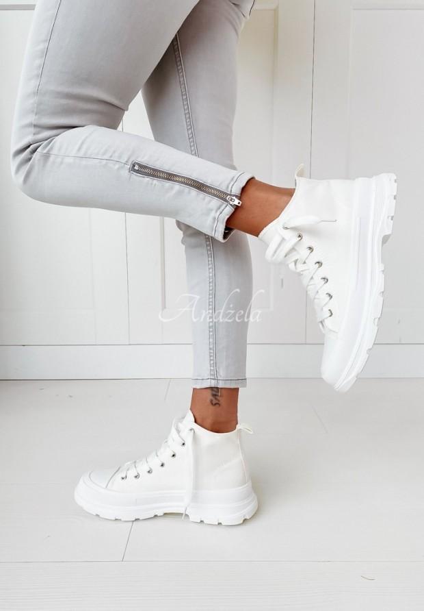 Trampki Trendy White