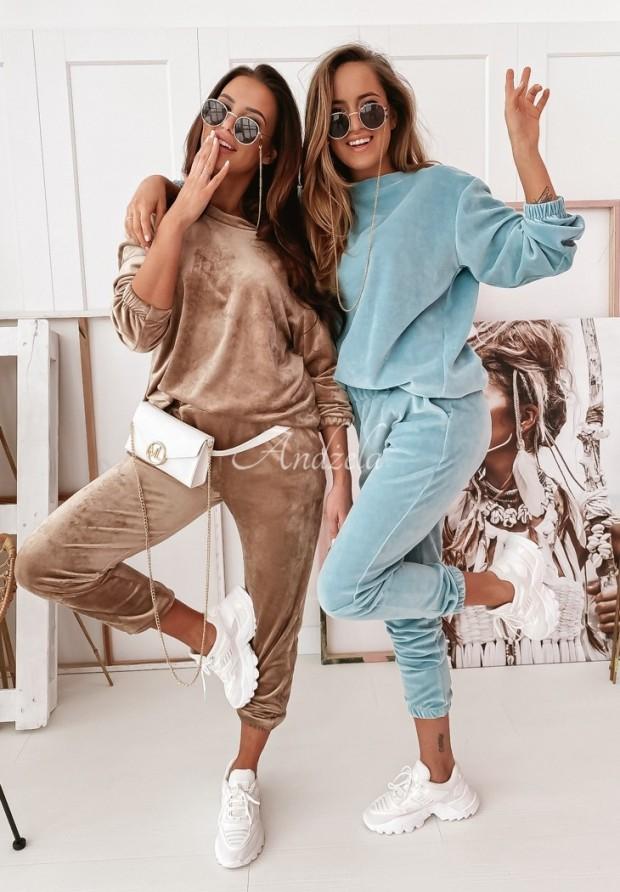 Spodnie Welur Mirray Camel
