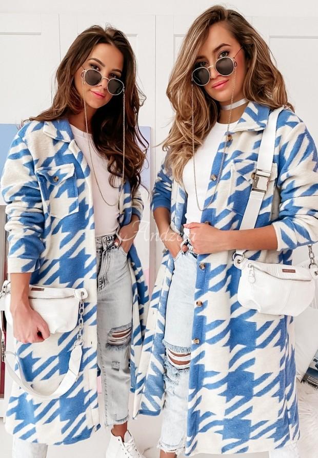 Płaszcz Cervo Blue