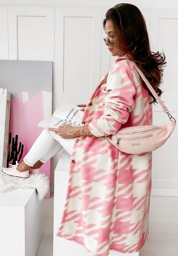 Płaszcz Koszula Cervo Pink