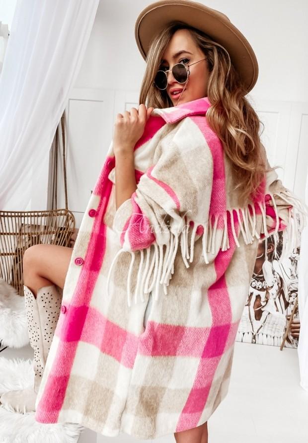 Płaszcz Wien Pink