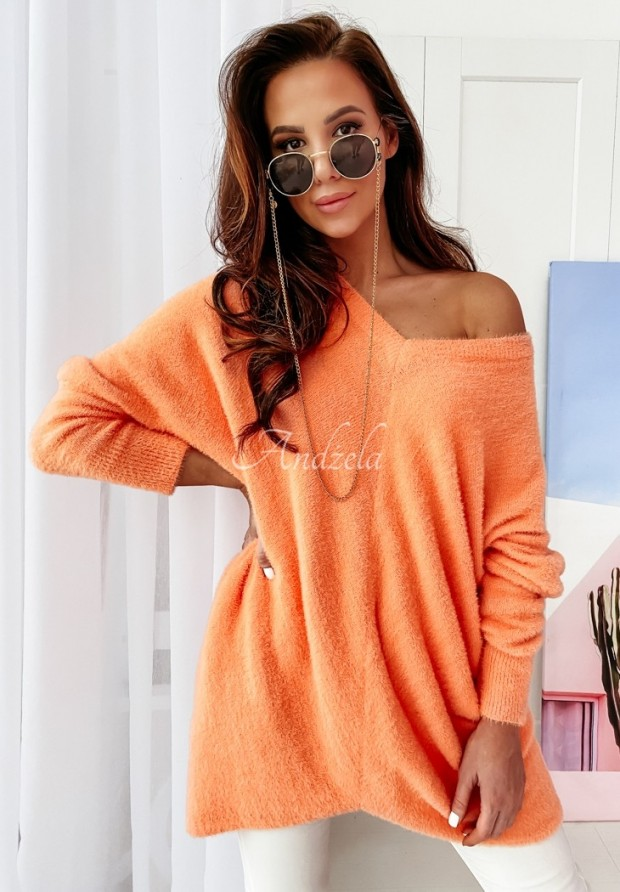 Sweter Alpaka Kalos Orange