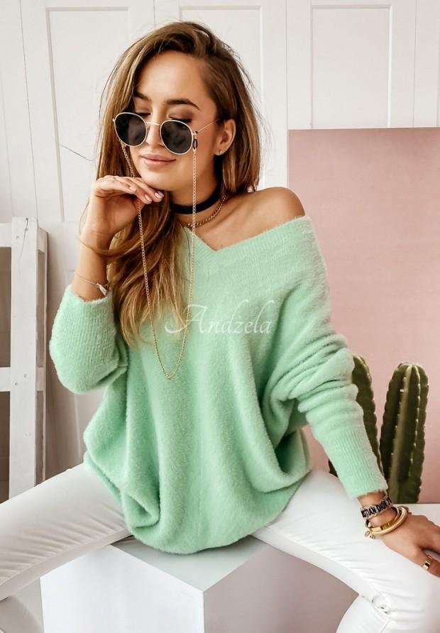 Sweter Alpaka Kalos Mint