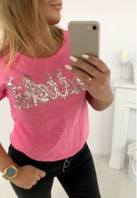 790 T-shirt Bullshit Róż