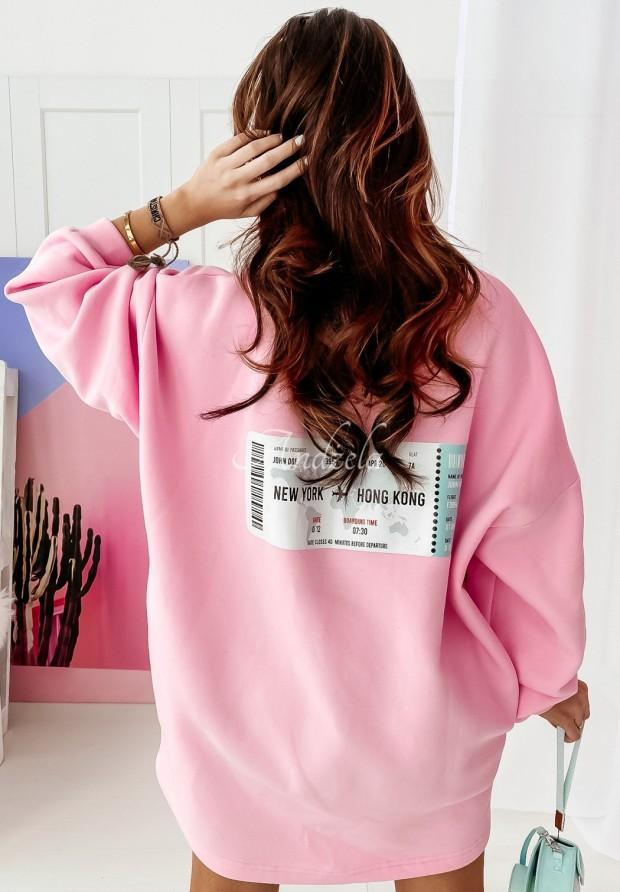 Bluza Ticket Pink
