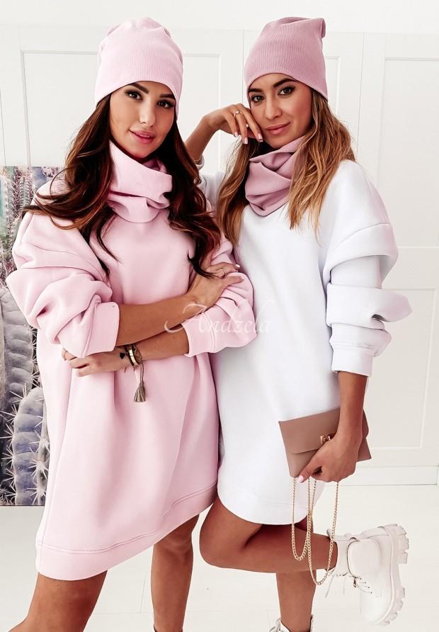 Bluza Oversize Lovalbe White