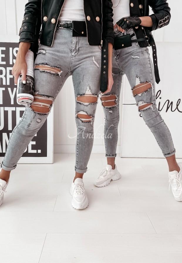 Spodnie Jeans Arribas Grey