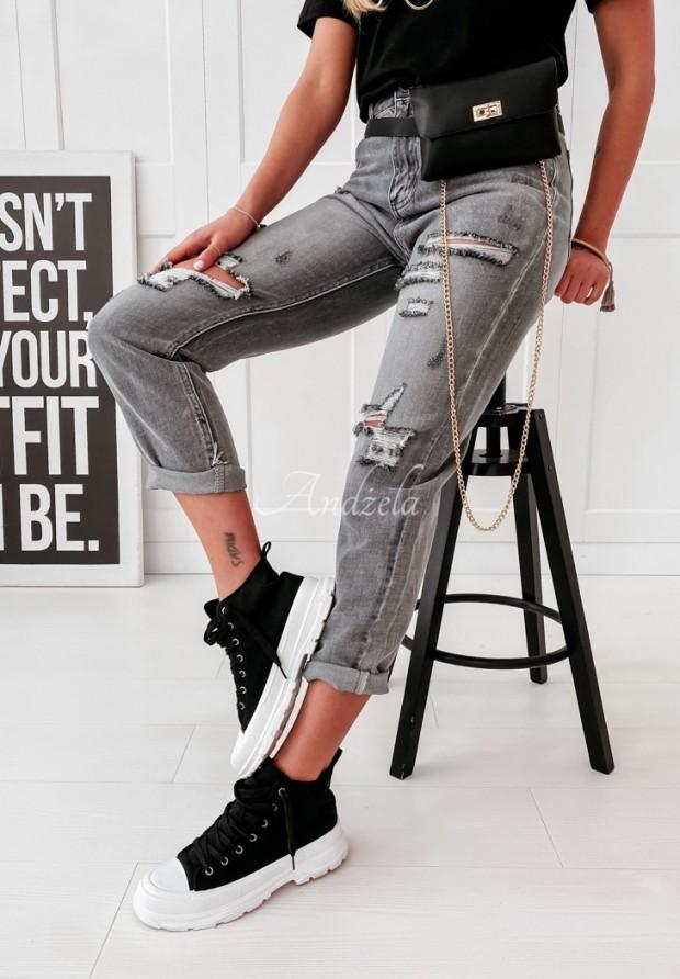 Spodnie Jeans Armas Grey