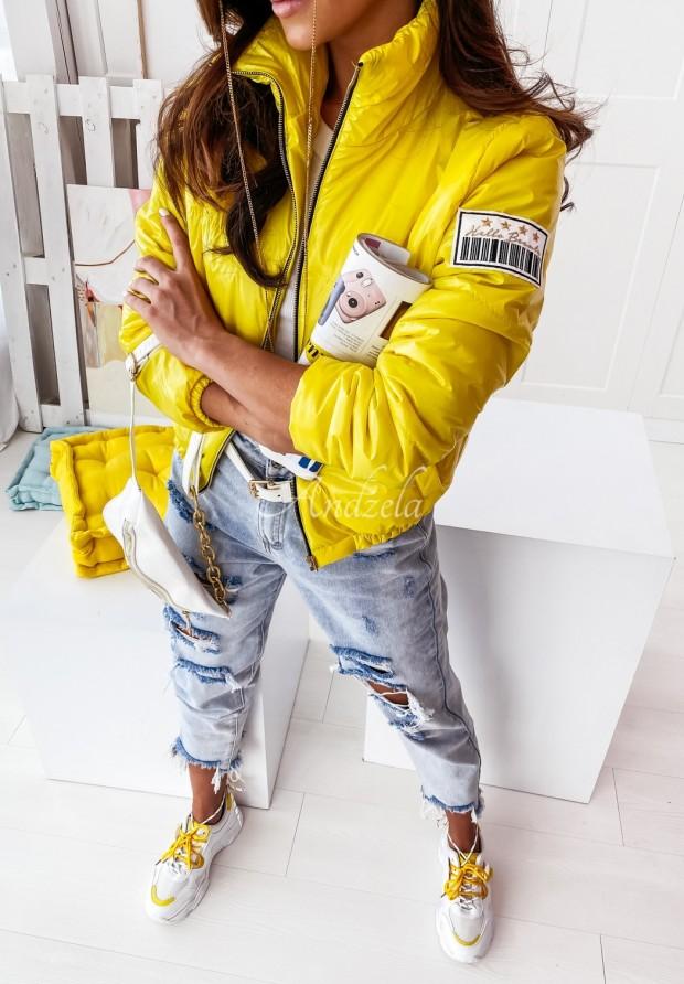 Kurtka Clinton Yellow