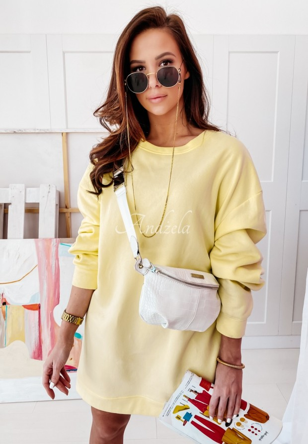 Bluza Oversize Lovalbe Light Yellow