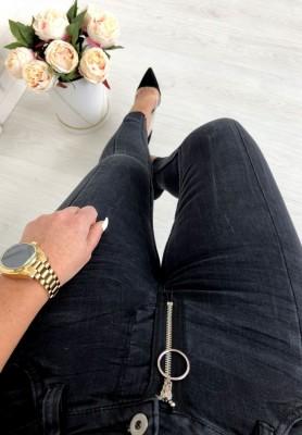9312 Spodnie Amber Black
