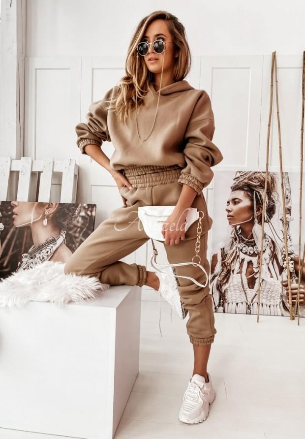 Komplet Dresowy Marisol Camel