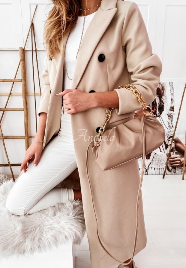 Płaszcz Caramell Beige