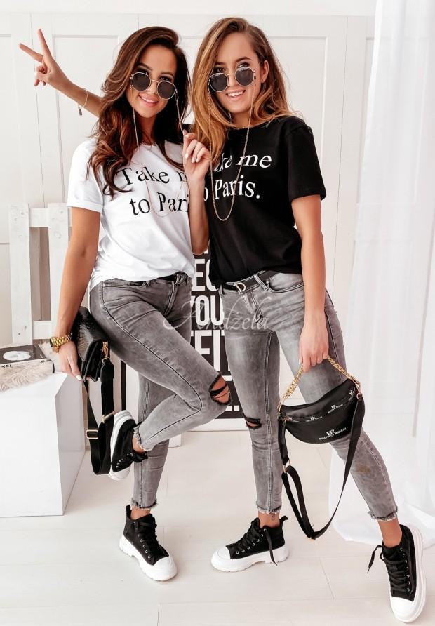 T-shirt Take Me To Paris White