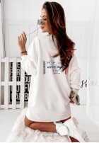 Bluza Ticket White