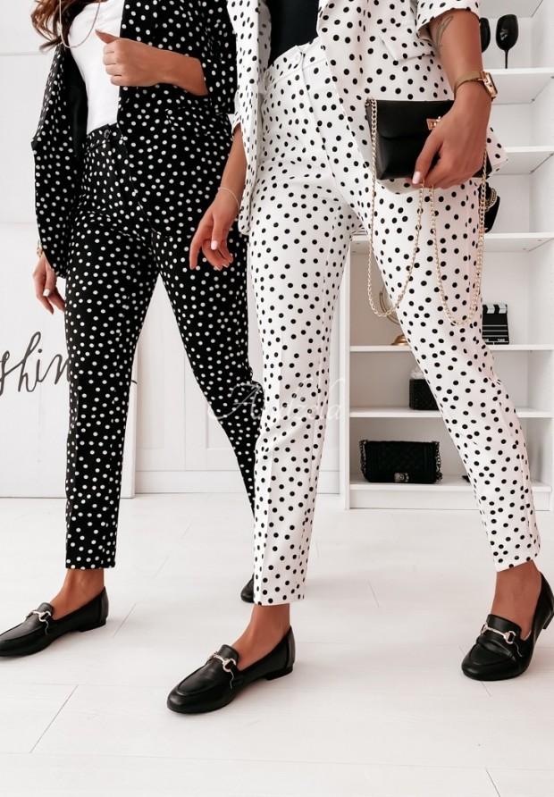 Spodnie Berlino Dots Black