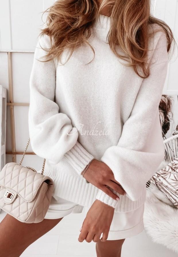Sweter Matilde White