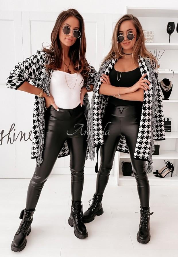 Spodnie Woskowane Velsatino Black