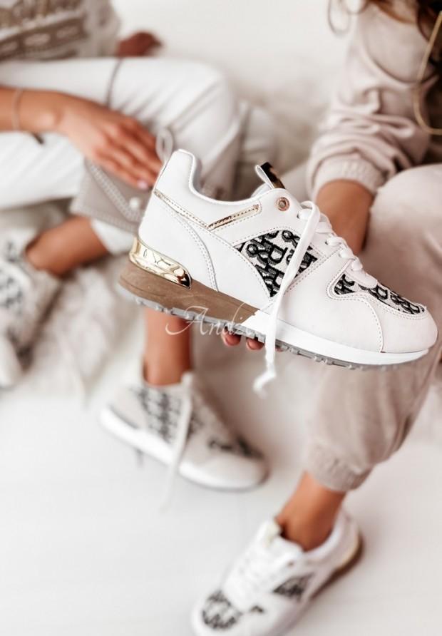 Adidasy Tuva White