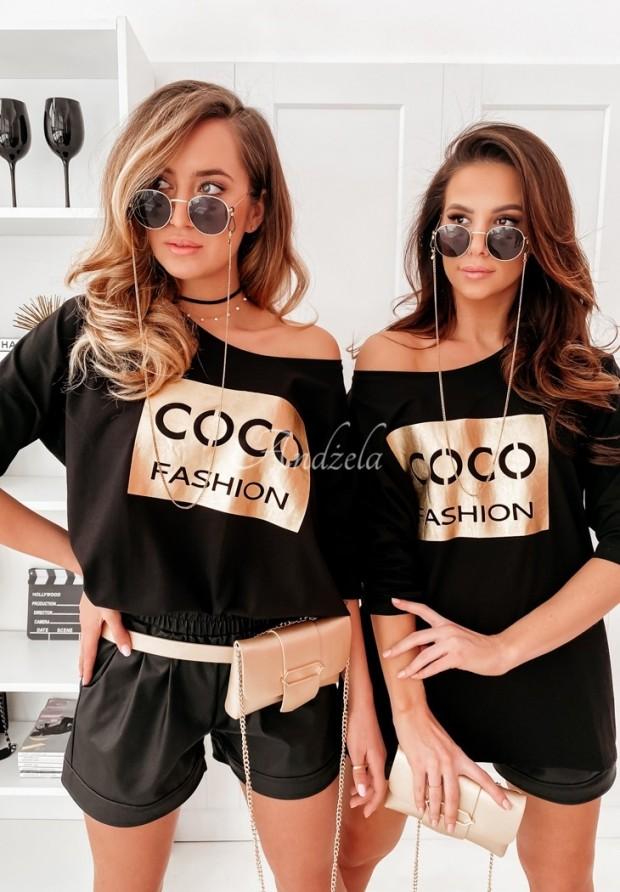 Bluzka Tunika Coco Black