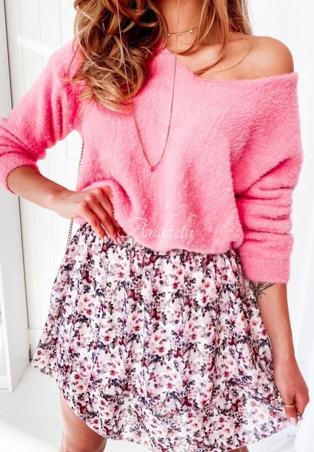 Sweter Alpaka Inter Pink
